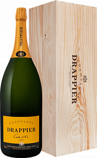 Drappier Carte d'Or Brut Champagne AOP in gift box<label>, 6л</label>
