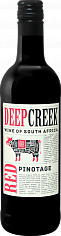 Вино Deep Creek Pinotage Western Cape WO Origin Wine<label>, 0.375л</label>